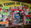 Fiesta de los Derechos: Mural realizado por la escuela