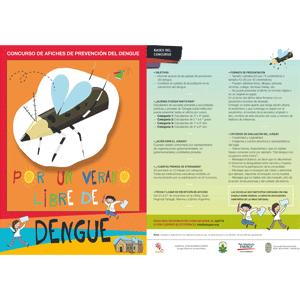 Convocatoria Concurso de afiches de prevención de dengue